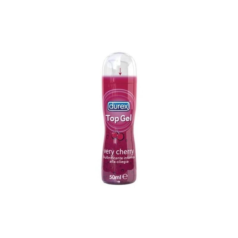 Durex Top Gel Very Cherry Lubrificante Intimo alla Ciliegia 50 ml