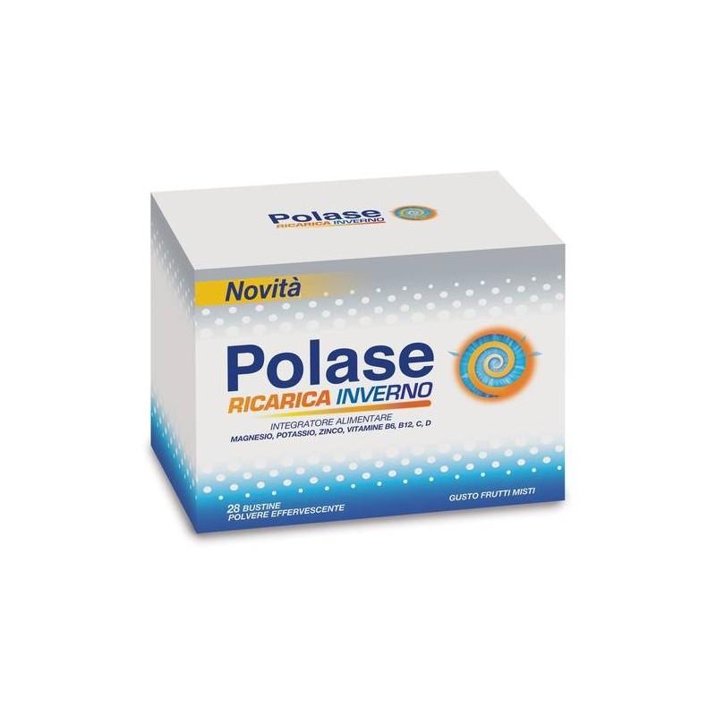 Polase Ricarica Inverno Integratore Magnesio Vitamine B6 e B12 28 Bustine