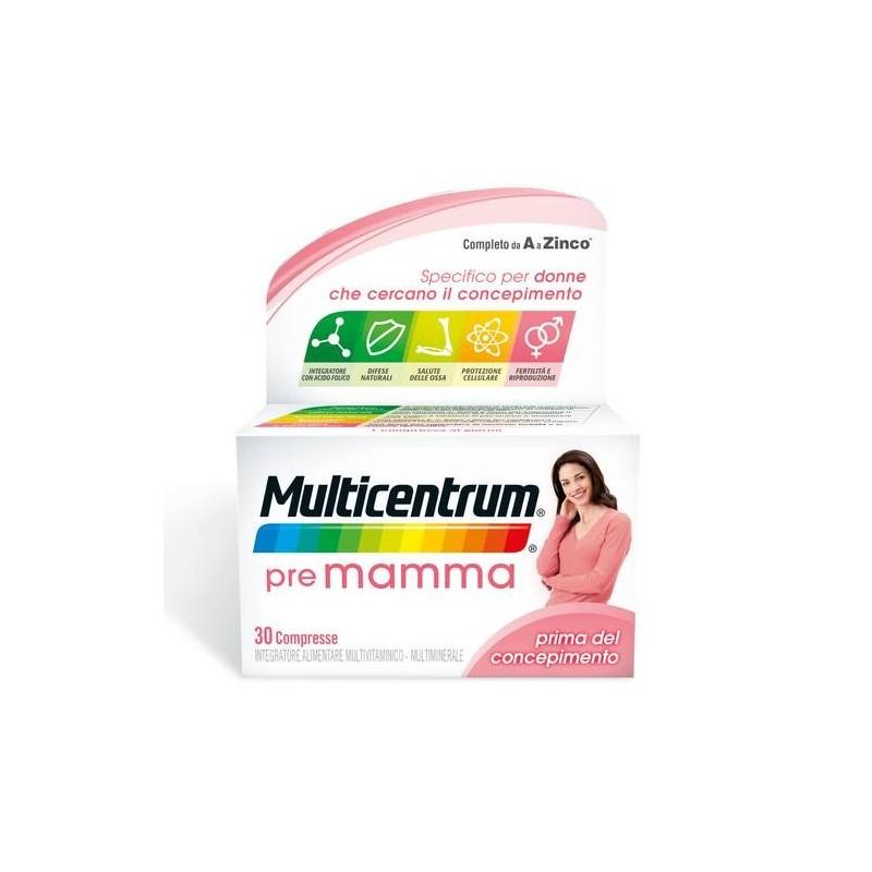 Multicentrum Pre Mamma Integratore Pre-concepimento 30 Compresse
