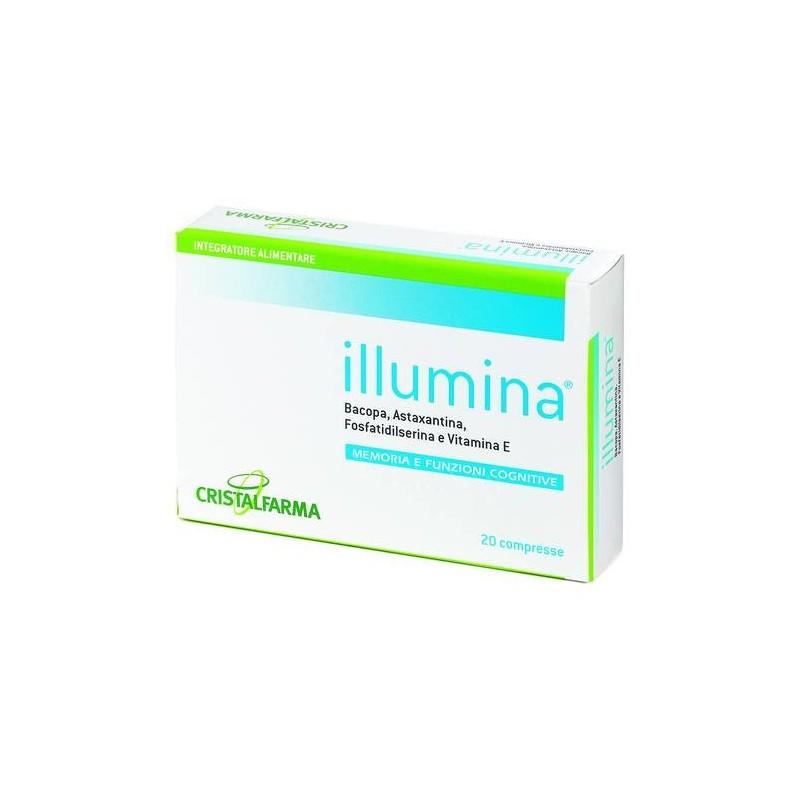 Cristalfarma Illumina Integratore Memoria 20 Compresse