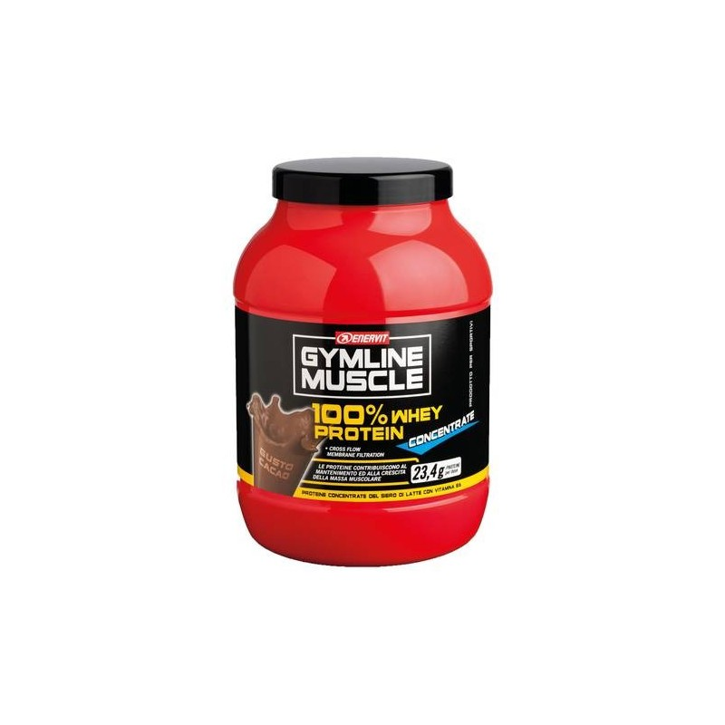 Enervit Gymline 100% Whey Concentrato Cacao Proteine 700g