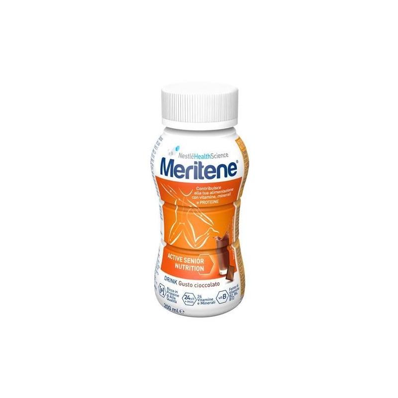 Nestlè Meritene Protein Drink Cioccolato Integratore Dietetico 200 ml
