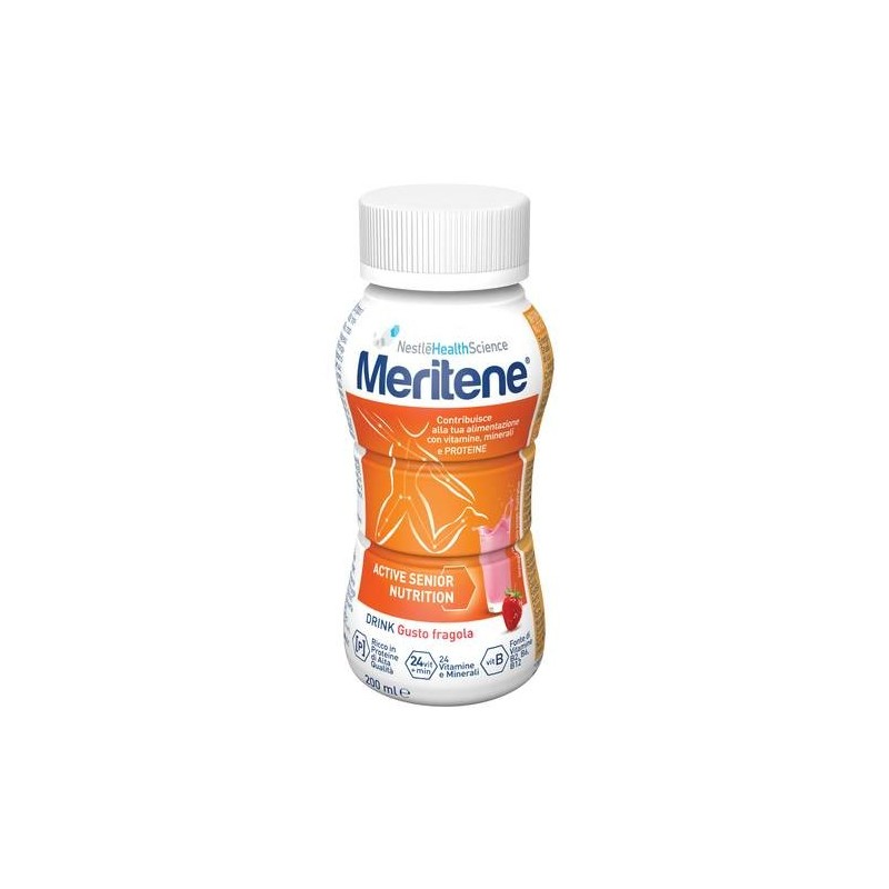 Nestlè Meritene Protein Drink Fragola Integratore Dietetico 200 ml