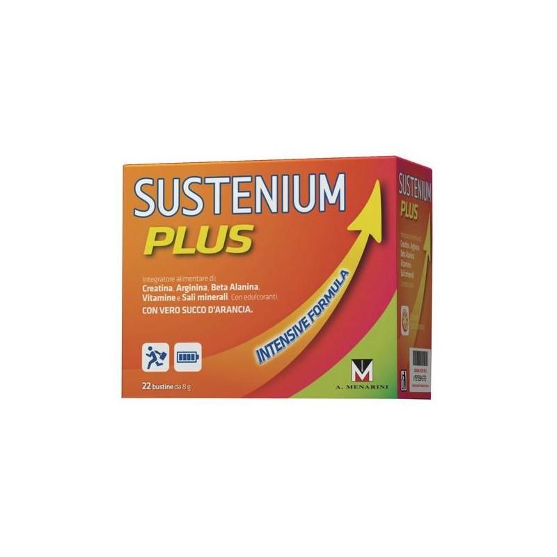 Sustenium Plus Integratore Creatina Arginina Sali Minerali 22 Bustine