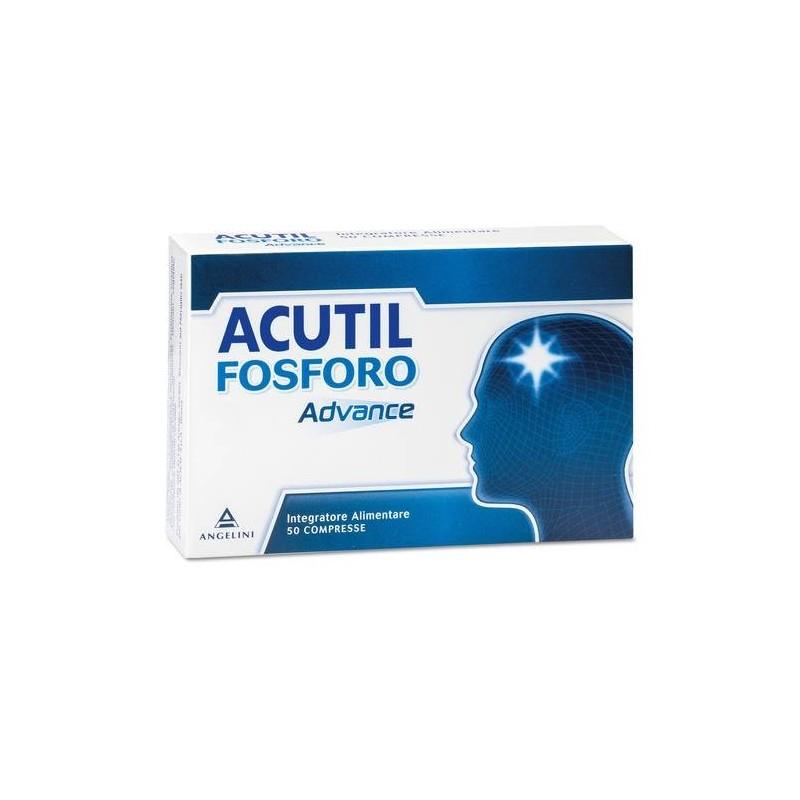 Acutil Fosforo Advance Integratore per Memoria e Concentrazione 50 Compresse