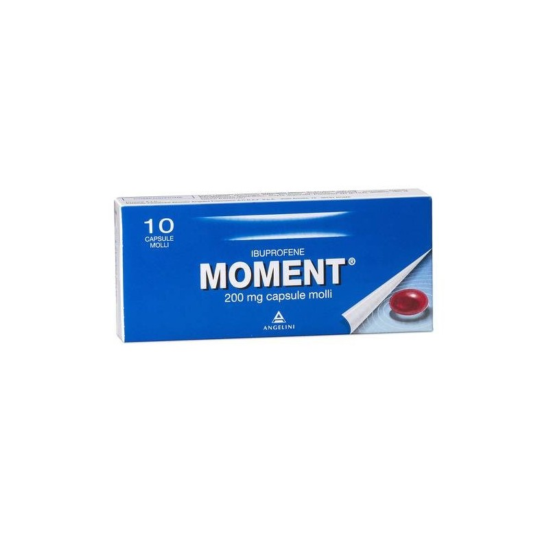 Moment 10 Capsule Molli 200 mg