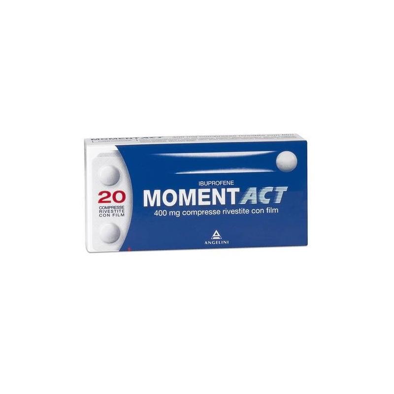Momentact 20 Compresse Rivestite 400 mg