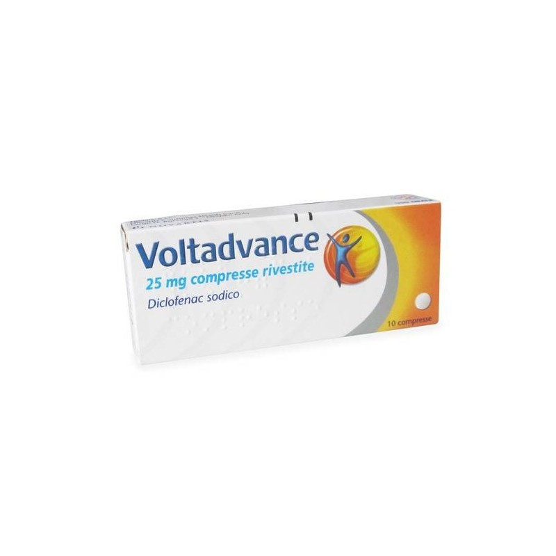 Voltadvance 10 Compresse Rivestite 25 mg