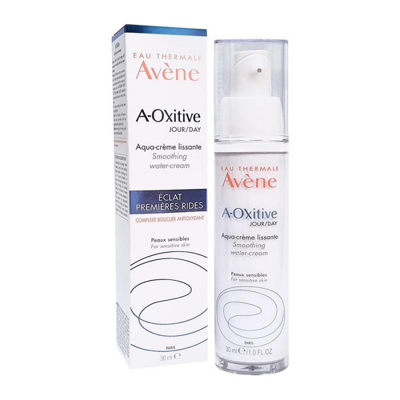 AVÈNE A-OXITIVE - AQUA SMOOTHING DAY CREAM FIRST WRINKLES 30ML