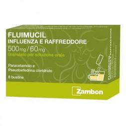 Fluimucil Influenza e Raffreddore 8 Bustine