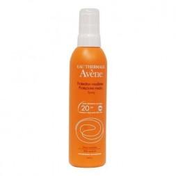 Avène Solare Spray Corpo SPF 20 Protezione Media 200 ml
