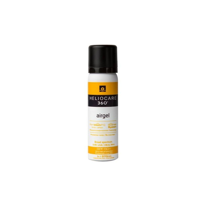 Heliocare 360 Airgel Solare SPF 50+ Protezione Molto Alta 60 ml