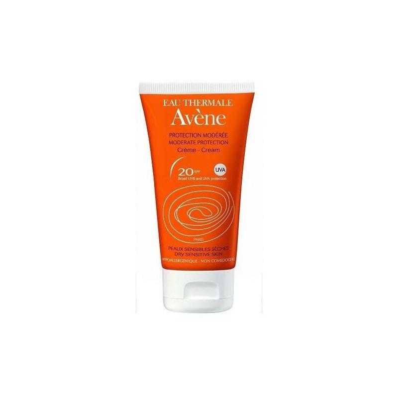 Avène Solare Crema Viso SPF 20 Protezione Bassa 50 ml