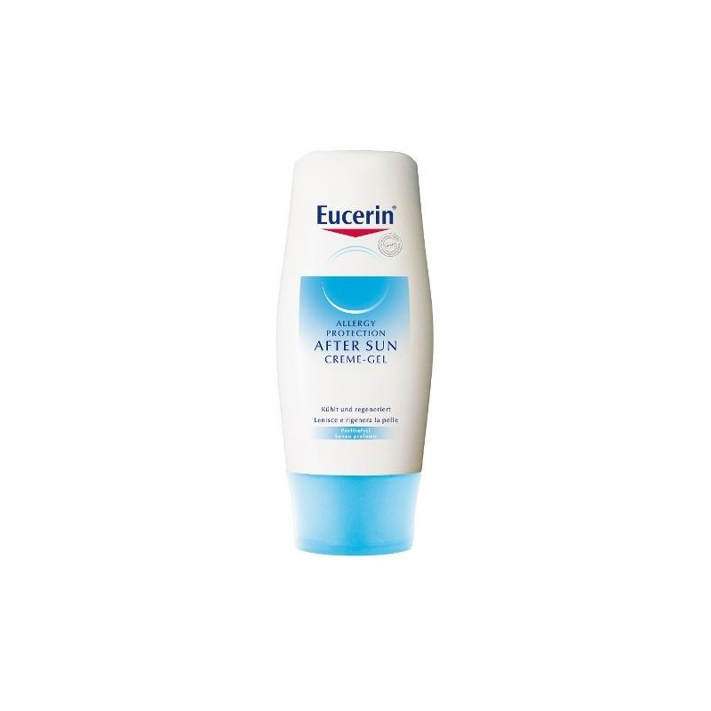 Eucerin After Sun Allergy Crema Gel Doposole Pelle Stressata Allergica 150 ml