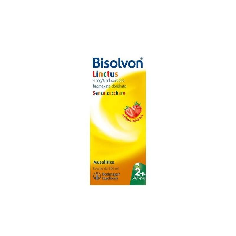 Bisolvon Sciroppo Flacone 200 ml Fragola