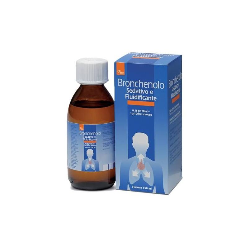Bronchenolo Sedativo Fluidificante Sciroppo Tosse 150 ml