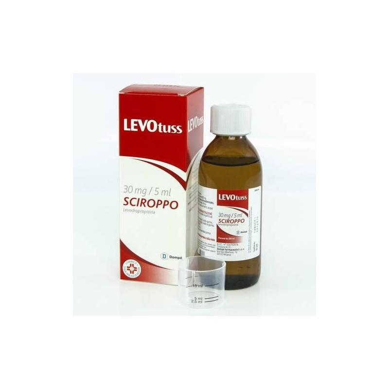 Levotuss Sciroppo 200 ml 30 mg/5ml