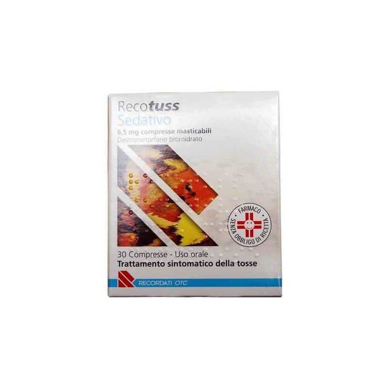 Recotuss Sedativo 30 Compresse Masticabili 6,5 mg