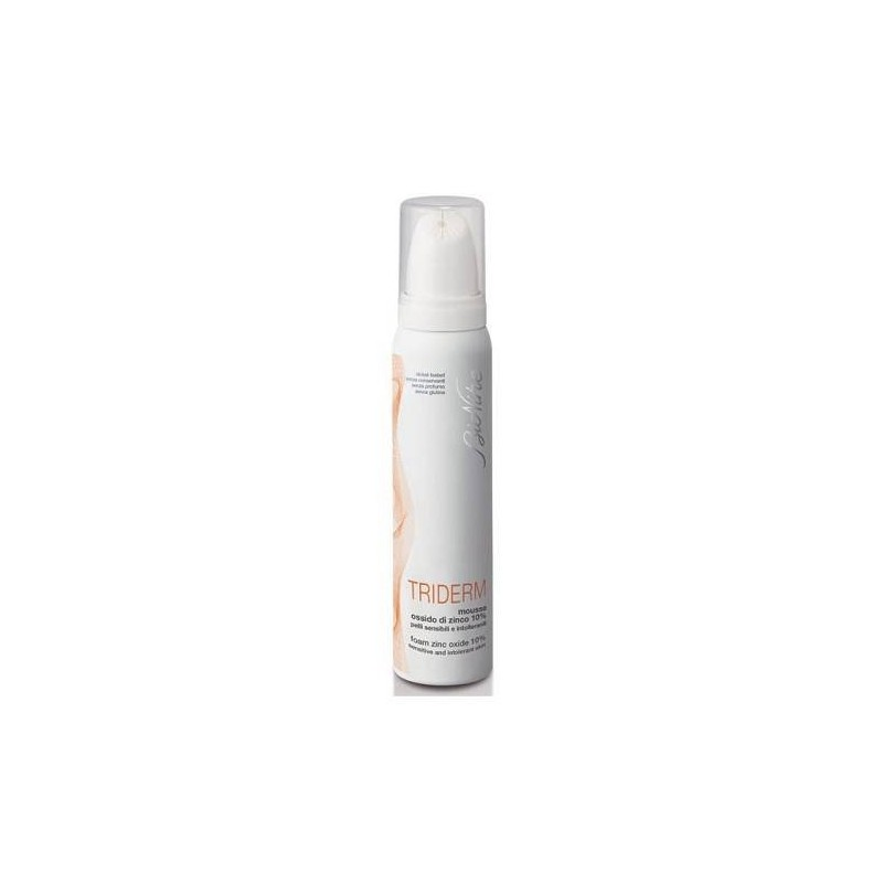 Bionike Triderm Zeta Mousse Ossido Zinco 10% Antiarrossamento 100 ml