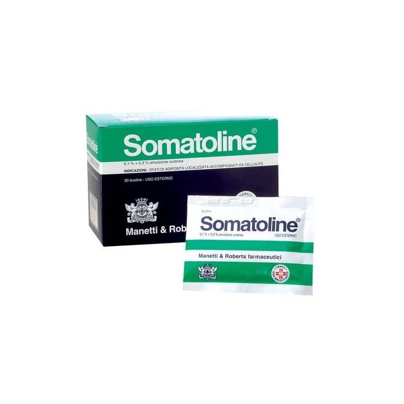 Somatoline Emulsione Cutanea 0,1% + 0,3% Anti-cellulite 30 Bustine