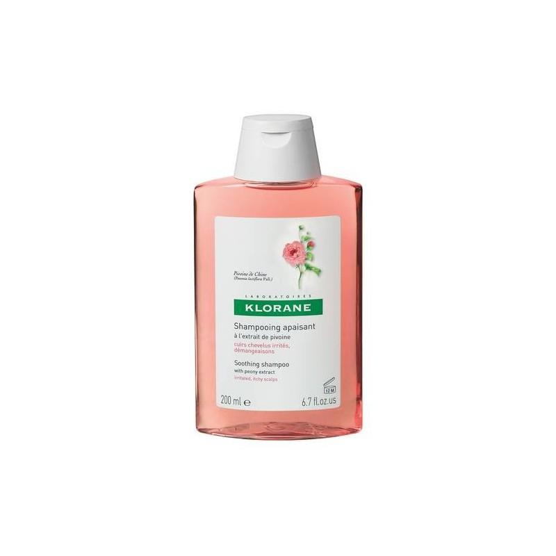 Klorane Peonia Shampoo Lenitivo 200 ml