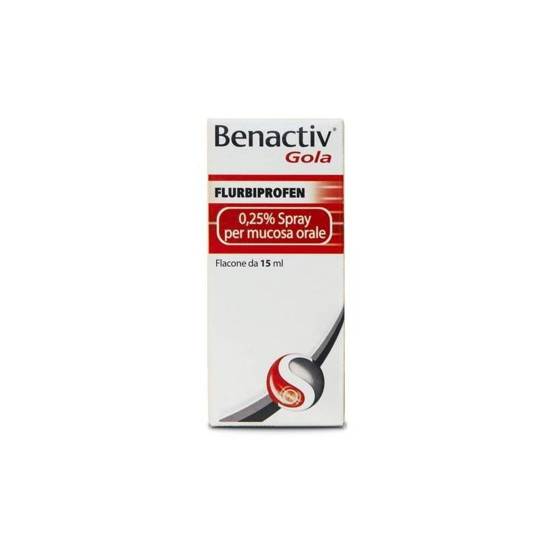 Benactiv Gola Spray 15 ml 0,25%