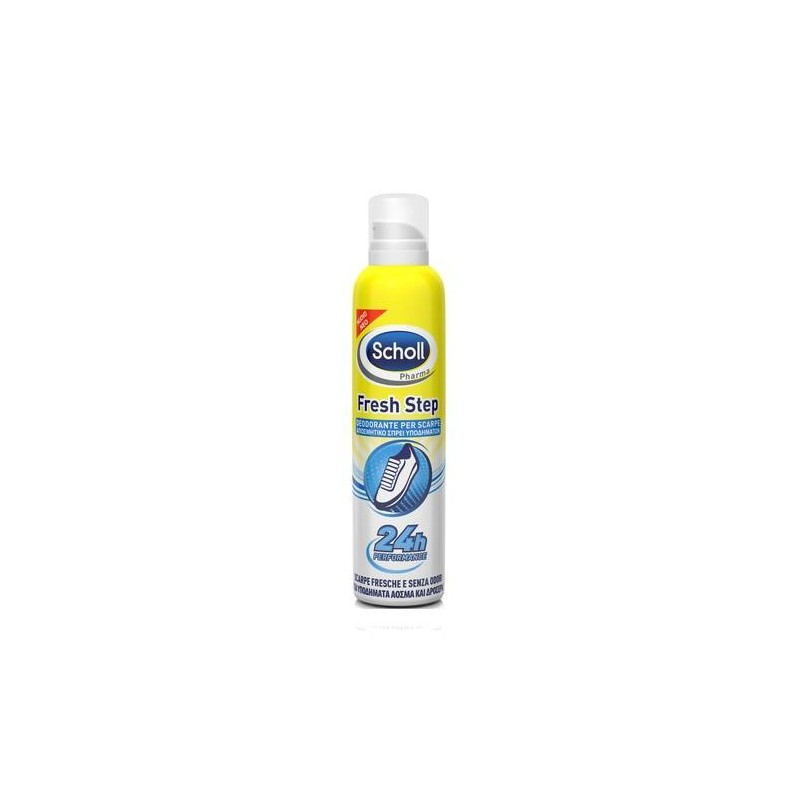 Dr. Scholl Fresh Step Deodorante Spray Per Scarpe 150 ml